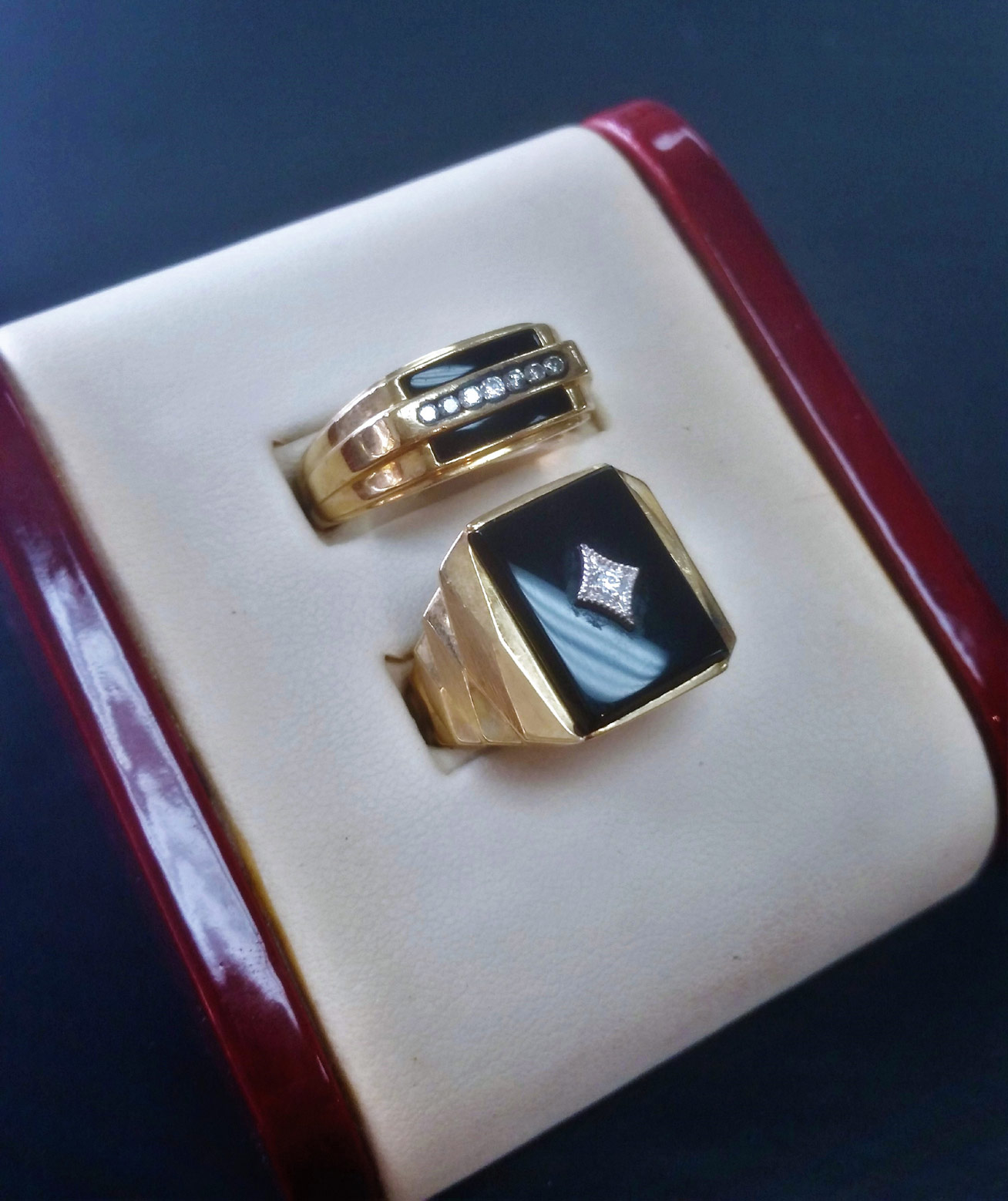 Mens Onyx Ring for Sale